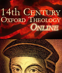 Fourteenth-Century Oxford Theology
