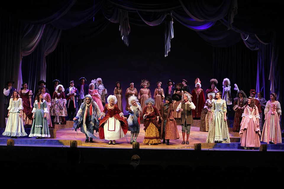 Photo of the production Candide