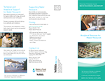 Water Sciences Laboratory Brochure